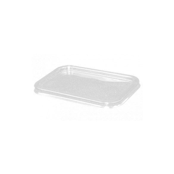 Műanyag szögletes tető 200-425ml-ig 50db/cs 800db/krt