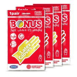Bonus extra hosszú gumikesztyű (S)