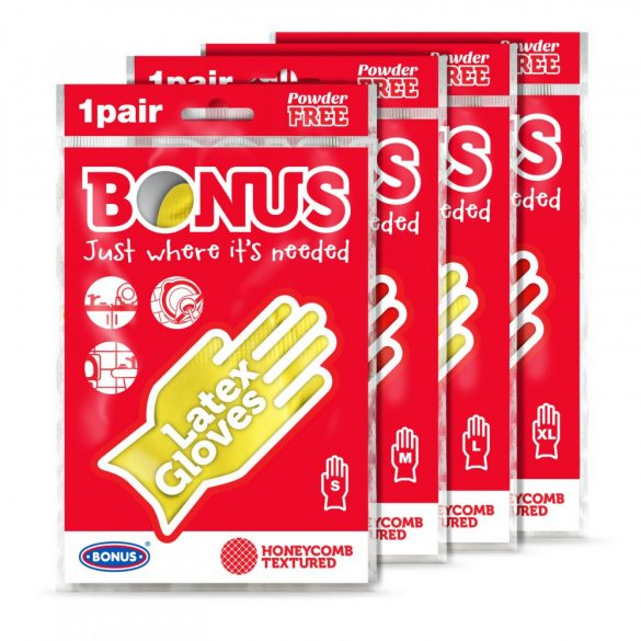 Bonus extra hosszú gumikesztyű (M)