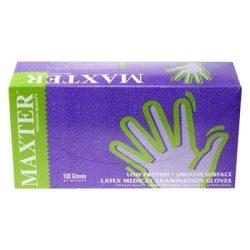 Latex púderezett gumikesztyű Maxter M-es 100db/cs