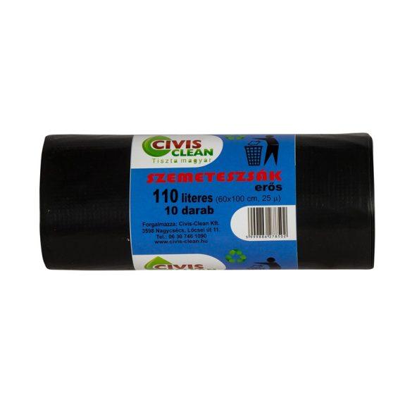 Szemeteszsák 110L erős (10db/cs)